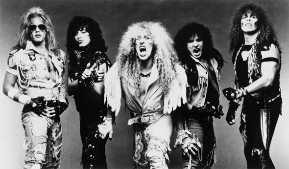 The most rocking' band in all the land — Twisted Sister!
