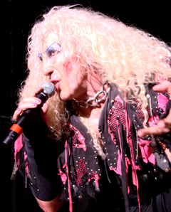 Dee Snider on stage in 2009