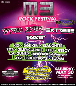 M3 Rock Festival Brings Rock Of The 80s Back To Baltimore