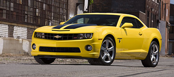 Chevrolet Announces Special Edition 'Transformers' Camaro