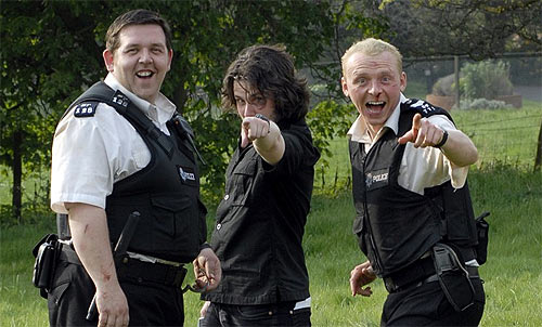Simon Pegg, Nick Frost and Edgar Wright Cross Over Into Each Other's Video Blogs