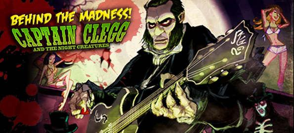 Jesse Dayton Talks Captain Clegg And The Night Creatures!