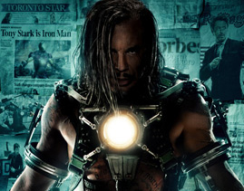 New Poster For 'Iron Man 2' Featuring Mickey Rourke!