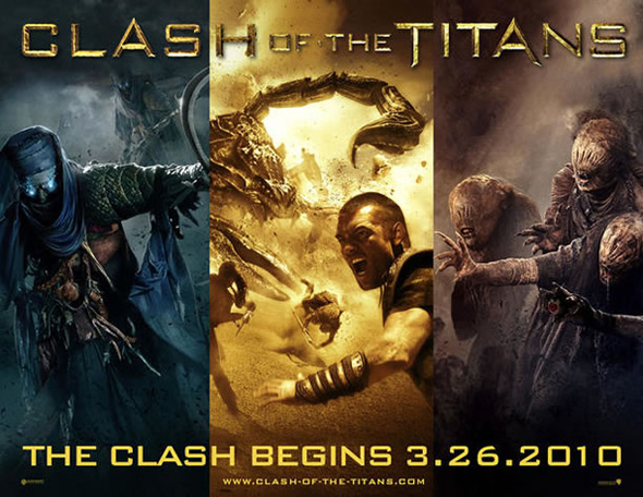 'Clash of the Titans' – Second Theatrical Trailer Hits The Web!