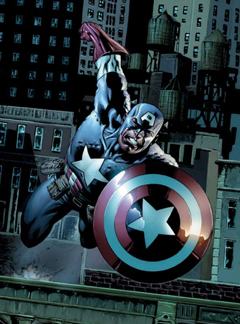 First Official Look At Chris Evans As Captain America!
