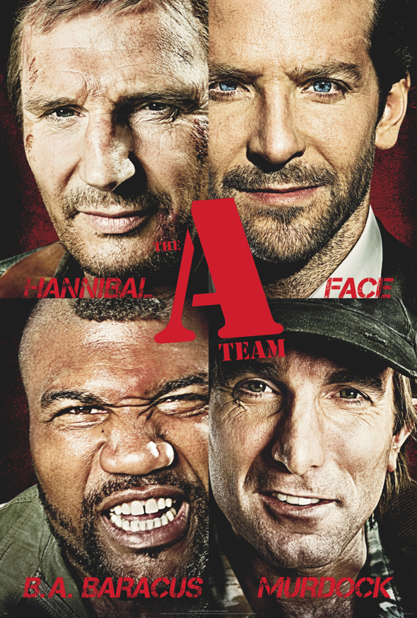 Get Face to Face With 'The A-Team' On New Theatrical Poster