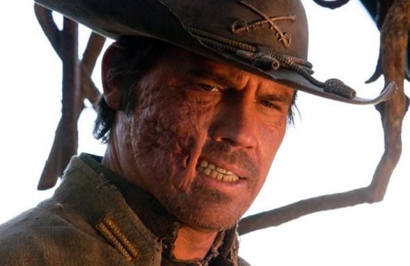 A New Look At A Grizzled Josh Brolin As 'Jonah Hex'