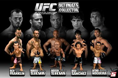 Franklin, Nogueira, Sanchez, A. Silva, W. Silva In New Round 5 UFC Series