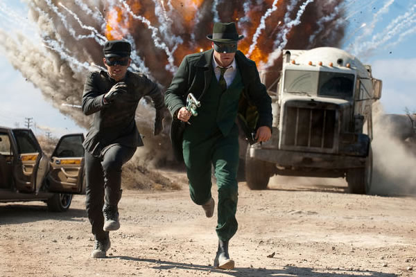 Cool New Photos From Michel Gondry's 'The Green Hornet'