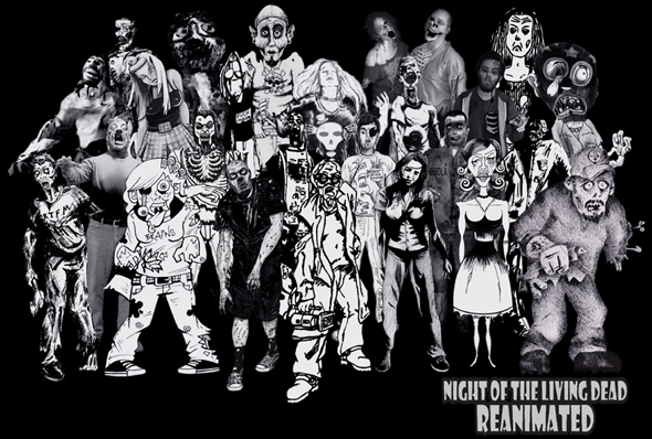 'Night Of The Living Dead: Reanimated' To Be Unleashed on DVD July 27th!