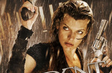 Teaser Poster for 'Resident Evil: Afterlife' Featuring Milla Jovovich