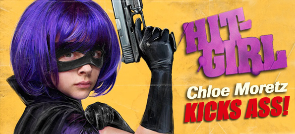 Rising Star Chloe Moretz Talks 'Kick-Ass' And Upcoming Projects!