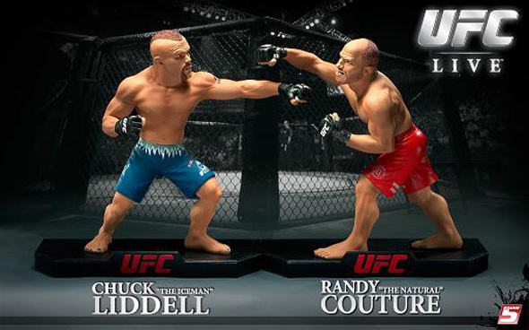 """Round 5 Introduces First """"UFC Live"""" Series With Couture – Liddell From UFC 43"""