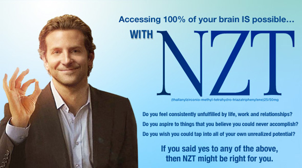 Bradley Cooper Unlocks His Potential With NZT In New Viral Campaign