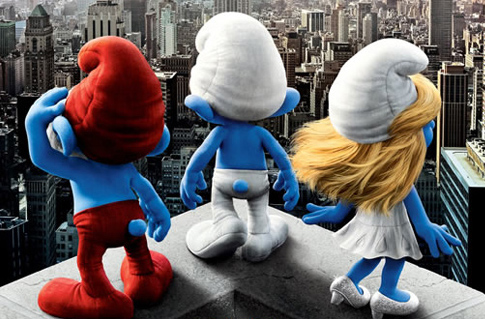 Columbia Pictures Unveils A Smurfy New Trailer For 'The Smurfs'