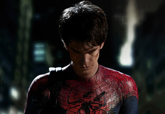 First Official Glimpse of Andrew Garfield In 'Spider-Man' Costume