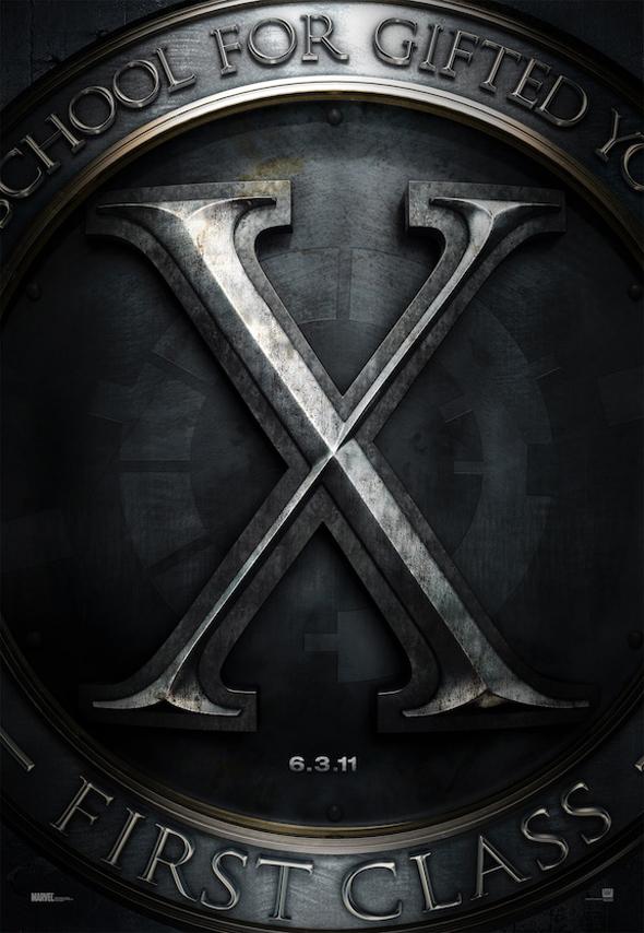 Teaser Poster For Matthew Vaughn's 'X-Men: First Class' Unveiled!