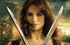 New Poster For 'Pirates of the Caribbean 4' Featuring Penélope Cruz