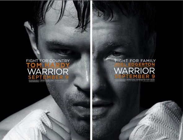 Two Posters For Mixed Martial Arts Flick 'Warrior' Unleashed!