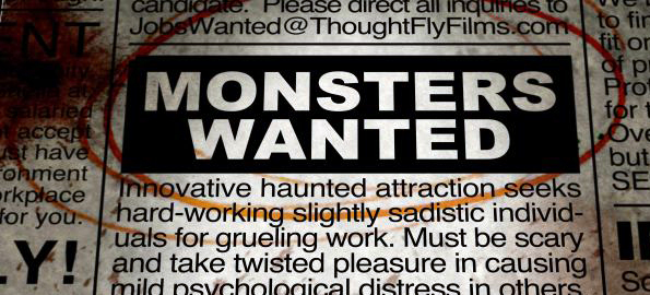 MONSTERS WANTED: Director Brian Cunningham Discusses His Latest Film!