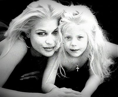Bobbie Brown and a young Taylar Lane