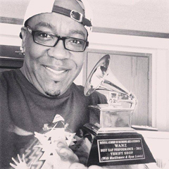 Wanz and his Grammy!