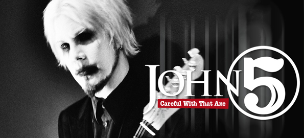 CAREFUL WITH THAT AXE: John 5 On His New Album And Live Concert Event