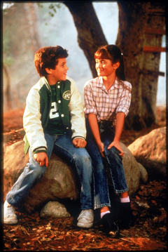 Kevin Arnold and Winnie Cooper