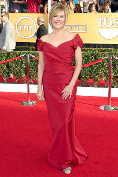 JoBeth Williams on the red carpet.