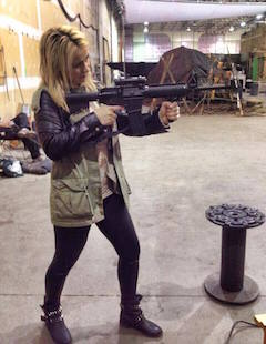 Chelsey Reist has some serious firepower!