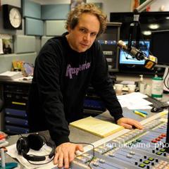 Eddie Trunk in studio.
