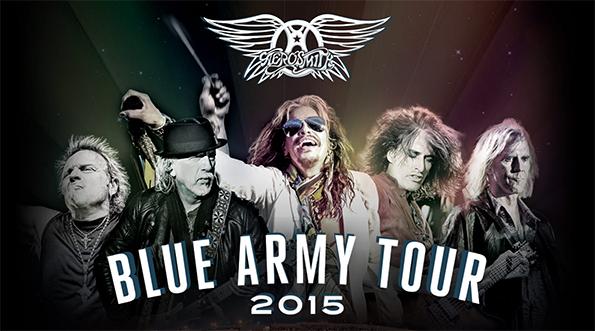 "AEROSMITH: ""Blue Army Tour 2015"" To Kick Off This June, Tour Dates Available"