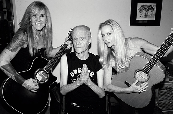 Lita Ford, Kim Fowley and Cherie Currie — a winning combination!
