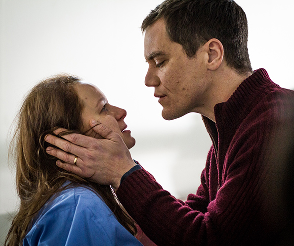Samantha Morton and Michael Shannon in 'The Harvest'