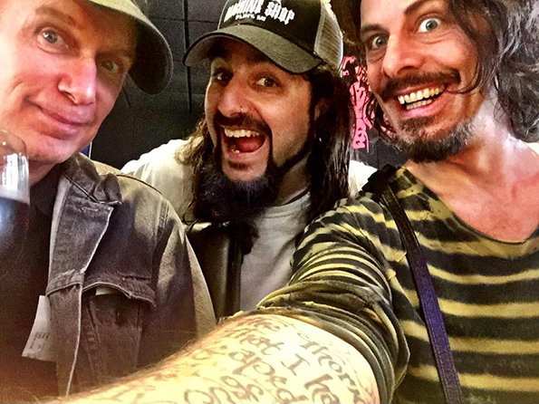 The Winery Dogs in the studio for 'Hot Streak.'