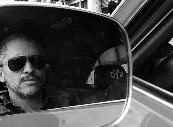 Clifton Collins, Jr. in the drive's seat.
