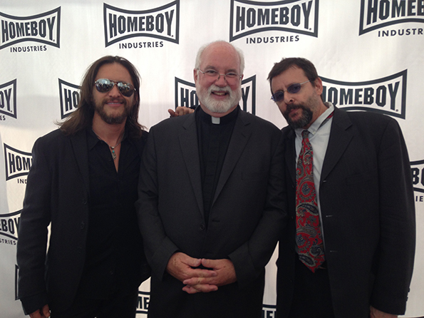 Judd Nelson, Father Gregory Boyle and Clifton Collins Jr.