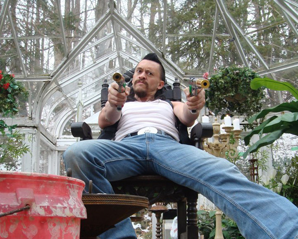 Clifton Collins as Romeo in 'Boondock Saints 2'