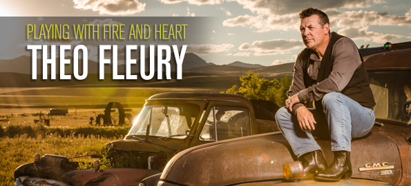 PLAYING WITH FIRE & HEART: NHL Legend Theo Fleury On His Country Music Debut