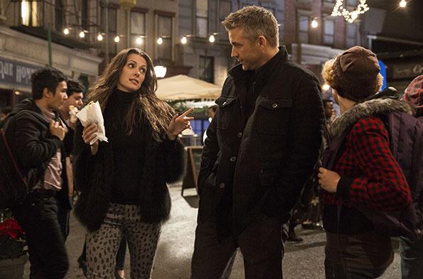Olga Fonda and Jeff Hephner in 'Agent X'