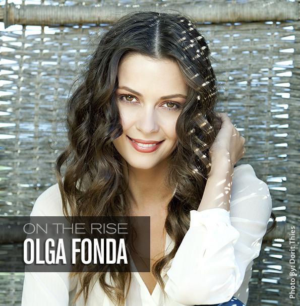 Actress Olga Fonda