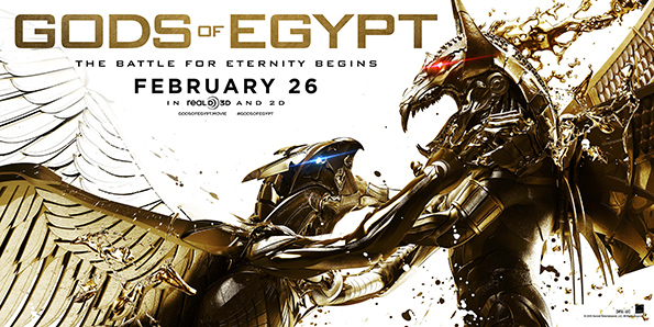 GODS OF EGYPT: New Trailer Unleashed For Upcoming Fantasy Flick