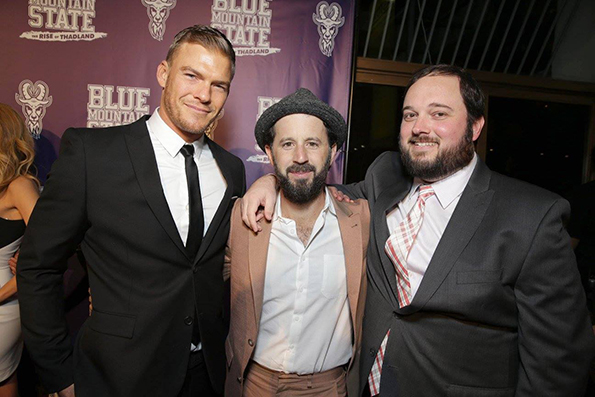 The Blue Mountain State Dream Team: Alan Ritchson, Chris Romano and Eric Falconer