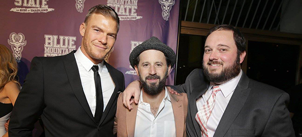 Blue Mountain State Lives! — Alan Ritchson, Chris Romano & Eric Falconer Speak!