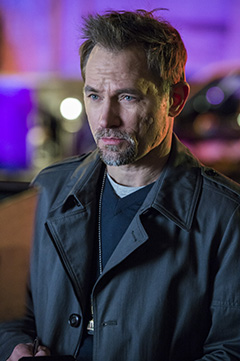 David Meunier as Detective Shay on 'Damien.'