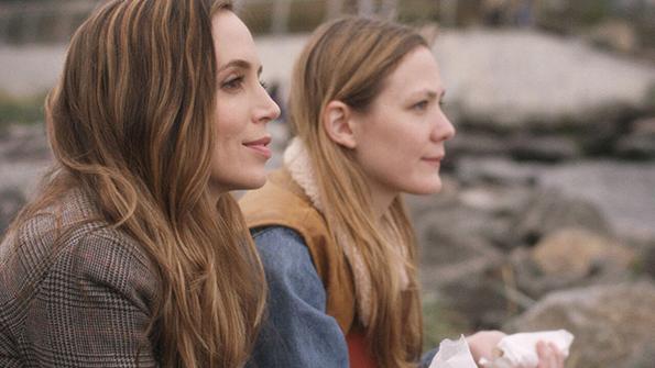 Eliza Dushku and Louisa Krause