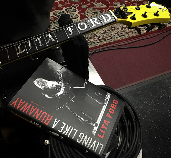 Lita Ford's autobiography, 'Living Like A Runaway' is not to be missed.