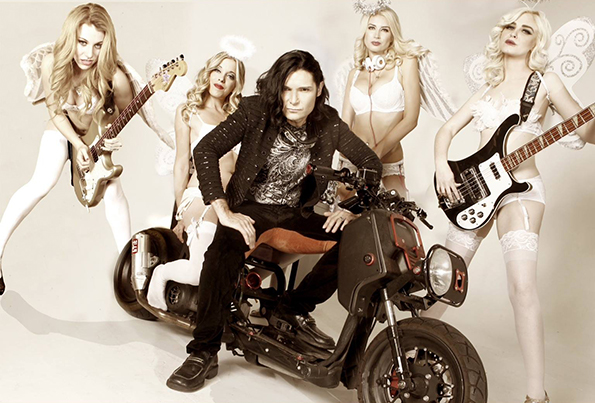 Corey Feldman and his special team of Angels.