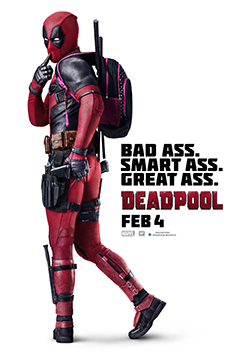 'Deadpool' is available everywhere now.