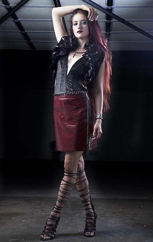 Edge of Paradise's powerhouse vocalist Margarita Monet
